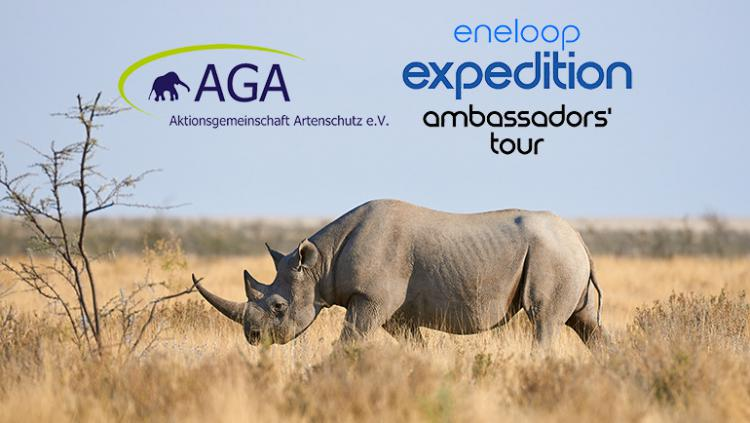 eneloop supports endangered species with ambassadors' tour