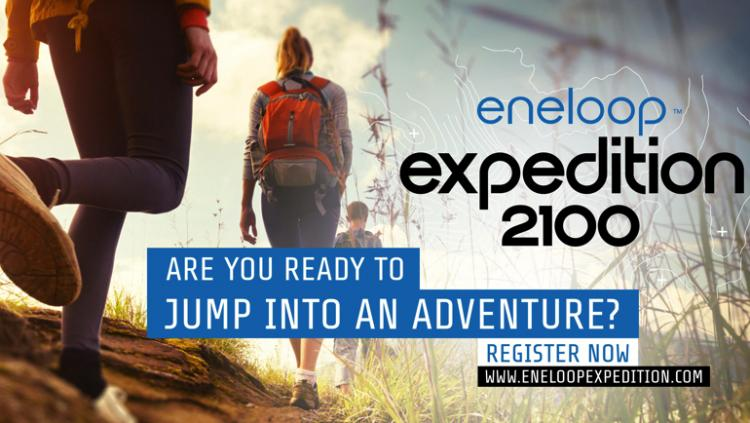 Backpack through Europe for the eneloop expedition 2100