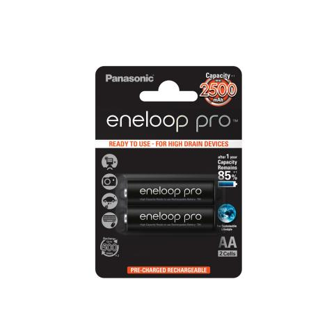 Product Main Image model eneloop AA 2500 mAh single blister 2 pieces