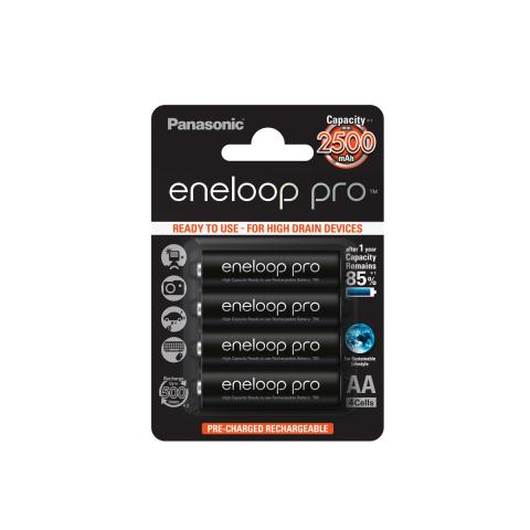 Product Main Image model eneloop AA 2500 mAh single blister 4 pieces