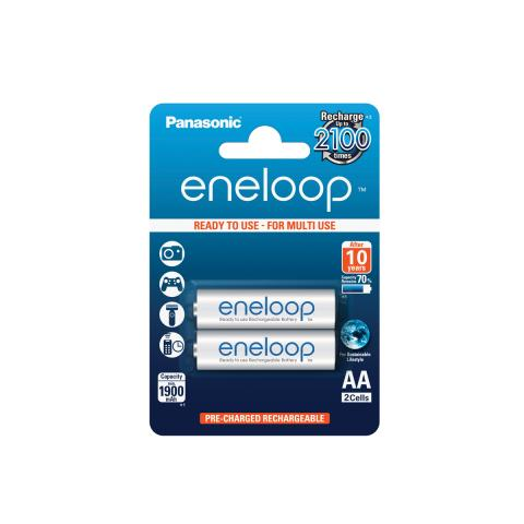Product Main Image model eneloop AA 1900 mAh single blister 2 pieces