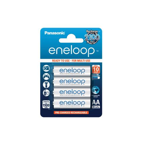 Product Main Image model eneloop AA 1900 mAh single blister 4 pieces