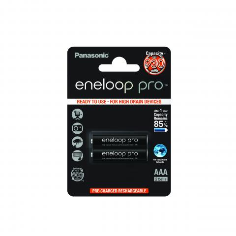 eneloop pro AAA 930 mAh single blister 2 pieces