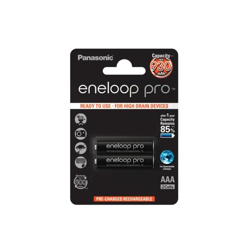 Product Main Image model eneloop AAA 930 mAh single blister 2 pieces
