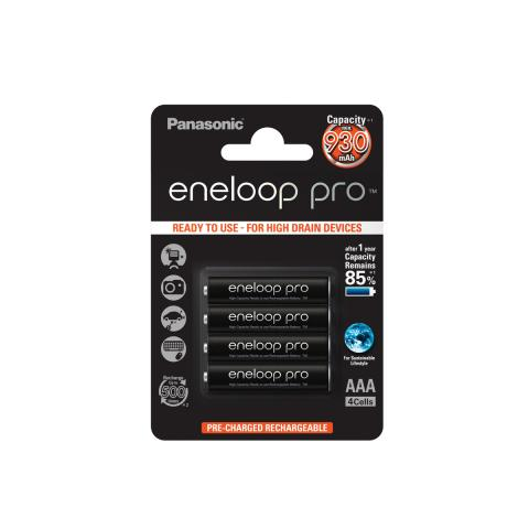 Product Main Image model eneloop AAA 930 mAh single blister 4 pieces
