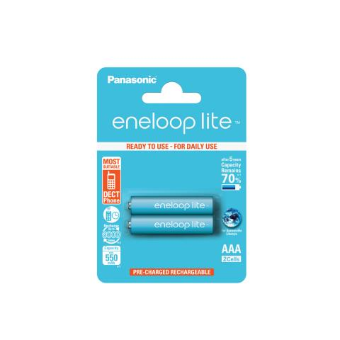 Product Main Image model eneloop AAA 550 mAh single blister 2 pieces