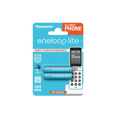Product Main Image model eneloop AAA 550 mAh for DECT single blister 2 pieces