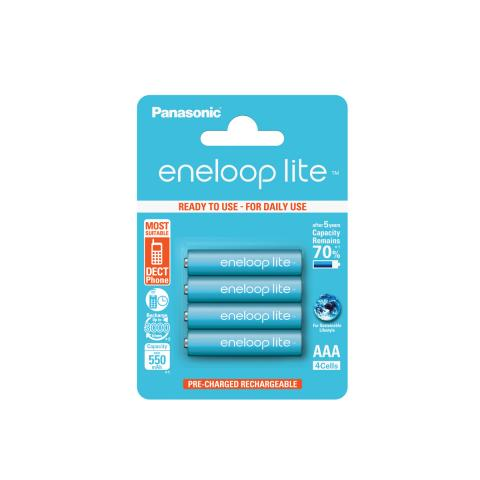 Product Main Image model eneloop AAA 550 mAh single blister 4 pieces